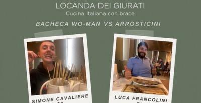 Locanda dei Giurati (Como), chi è in grado di mangiare più di 80 arrosticini?