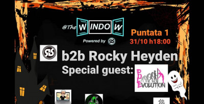 Ross Roys: @TheWindow, il 31 ottobre back to back con Rocky Heyden