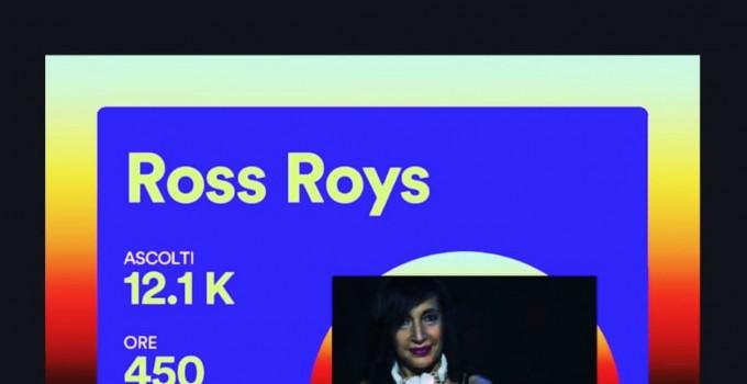 Ross Roys: buoni risultati su Spotify ed @ The Window cresce