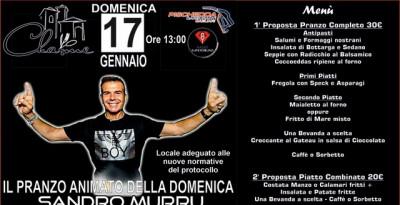 Sandro Murru Kortezman, 17/1 pranzo con musica allo Charme di Settimo San Pietro (Cagliari)