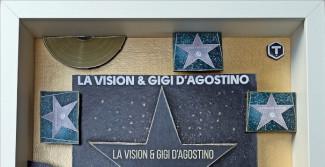 A LA Vision e Gigi D'Agostino il premio Gold Fingers