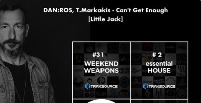 """Can't Get Enough"" di DAN:ROS con T.Markakis, su Little Jack ​"