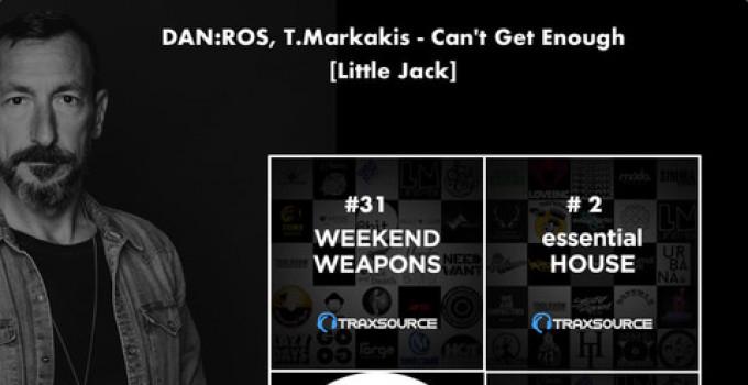 """""""Can't Get Enough"""" di DAN:ROS con T.Markakis, su Little Jack """