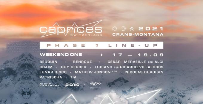 Caprices Festival rivela i suoi primi artisti