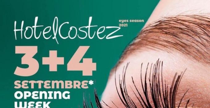 Hotel Costez – Cazzago (BS): Opening Week, il 3 ed il 4 settembre