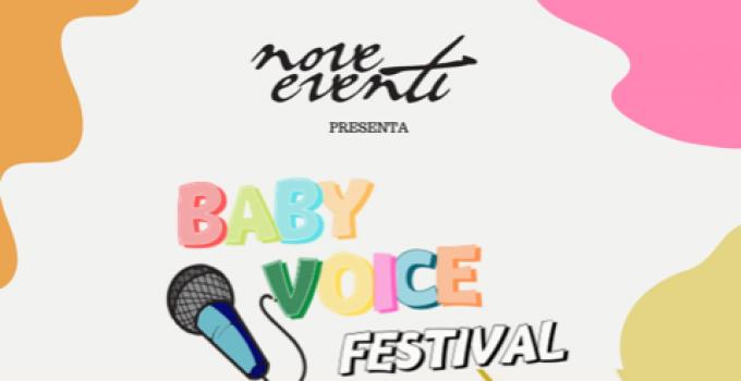 FESTIVAL BABY VOICE, IL 5 SETTEMBRE 2021 A PIETRARUBBIA LA FINALISSIMA