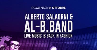 Alberto Salaorni & Al-B.Band il 31 ottobre 2021 all'Aquardens di Terme di Verona
