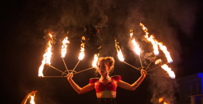 30 e 31/10, Circo Nero Italia incanta il Magicland - Valmontone (Roma)